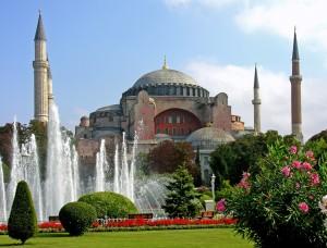 Hagia Sophia in Istanbul, Turkije