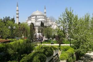 Süleymaniye Camii (Süleymaniye moskee) in Istanbul, Turkije
