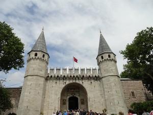 Topkapi Paleis in Istanbul, Turkije