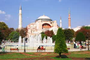 Aya Sophia (Hagia Sophia) in Istanbul