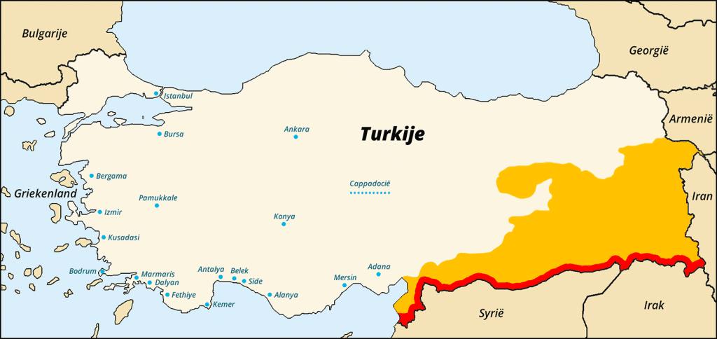 Reisadvies Turkije op 12 okt 2015