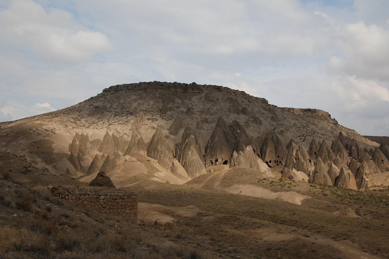 Aardpiramides in Cappadocië
