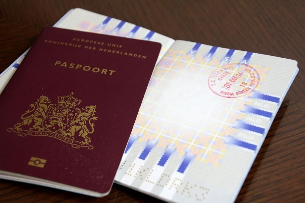 Paspoorten met stempel van Turkije