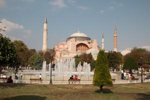 De Aya Sophia in Istanbul