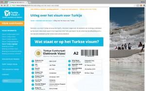 Nieuwe pagina met uitleg over het visum voor Turkije op TurkijeVisum.nl