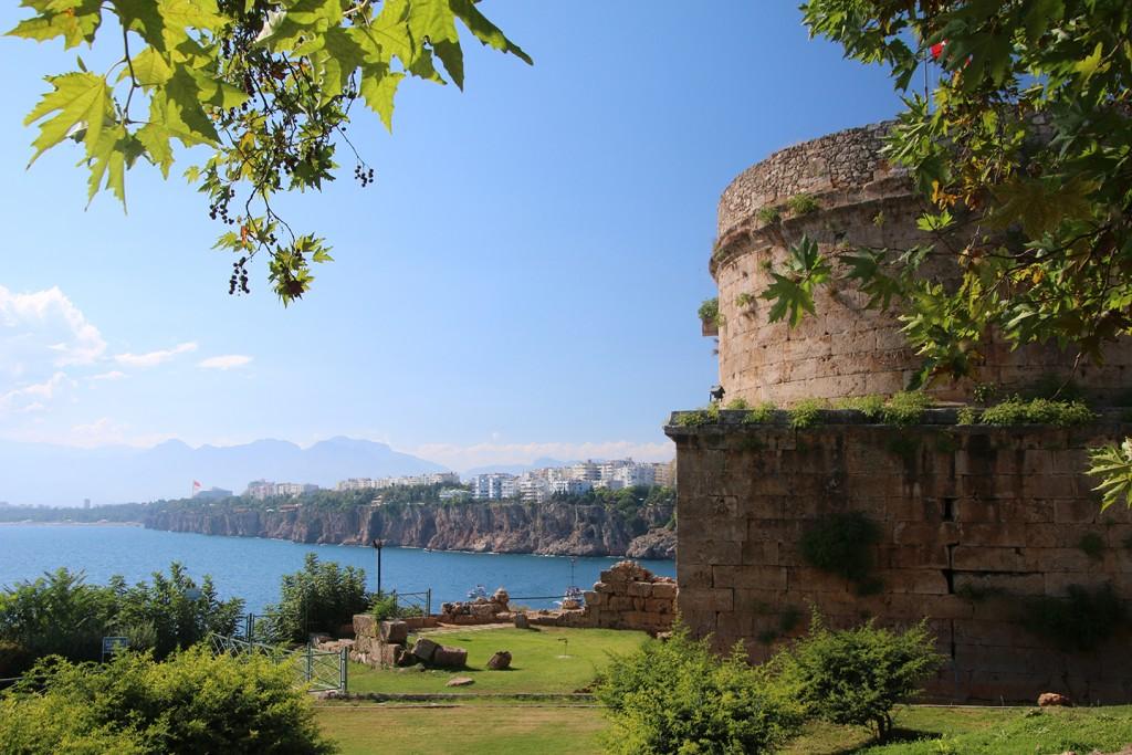 Prachtige uitzichten bij de kust van Antalya