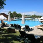 Zwembad in een hotel in Turkije