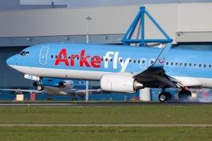 Vliegtuig van Arkefly