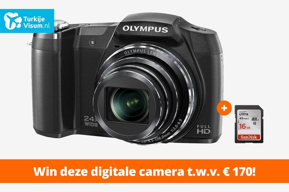 Win een digitale camera t.w.v. €170 bij aanschaf visum Turkije