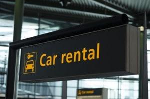 Auto huren op het vliegveld