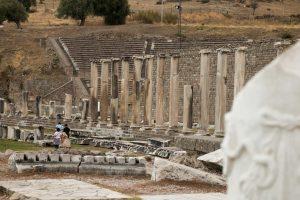 Overblijfselen van het Asklepieion, Turkije