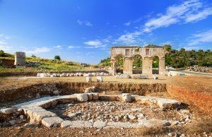 Ruïnes in Patara, Turkije