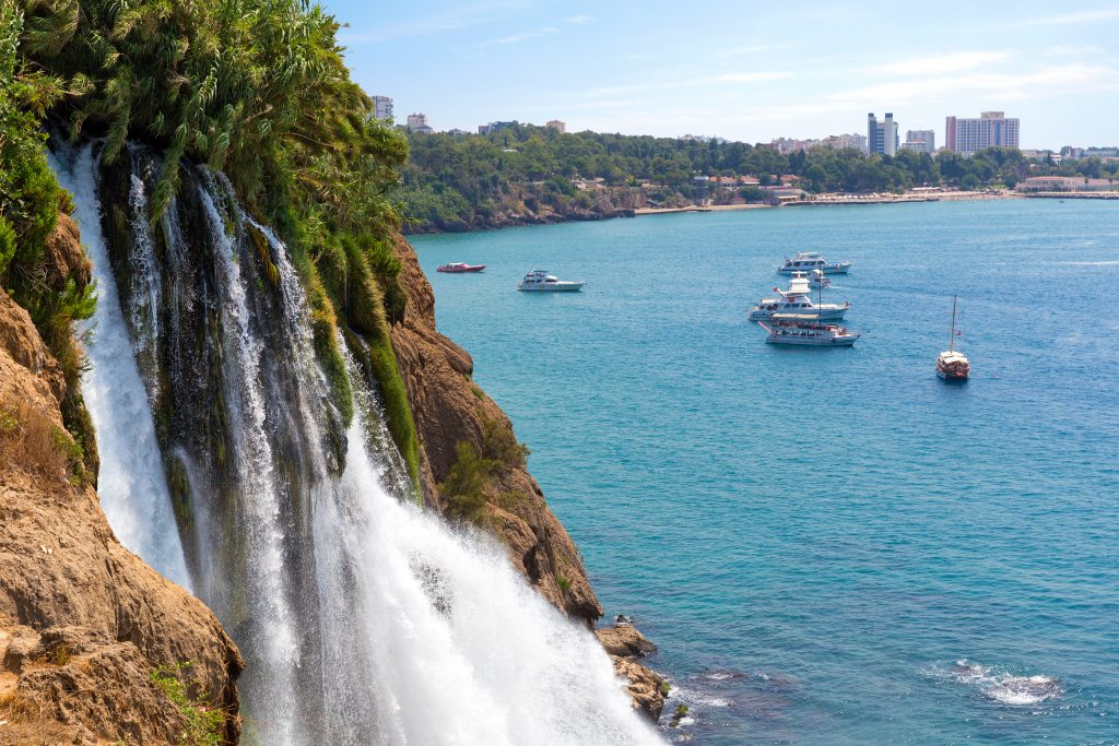 Waterval in Antalya, Turkije
