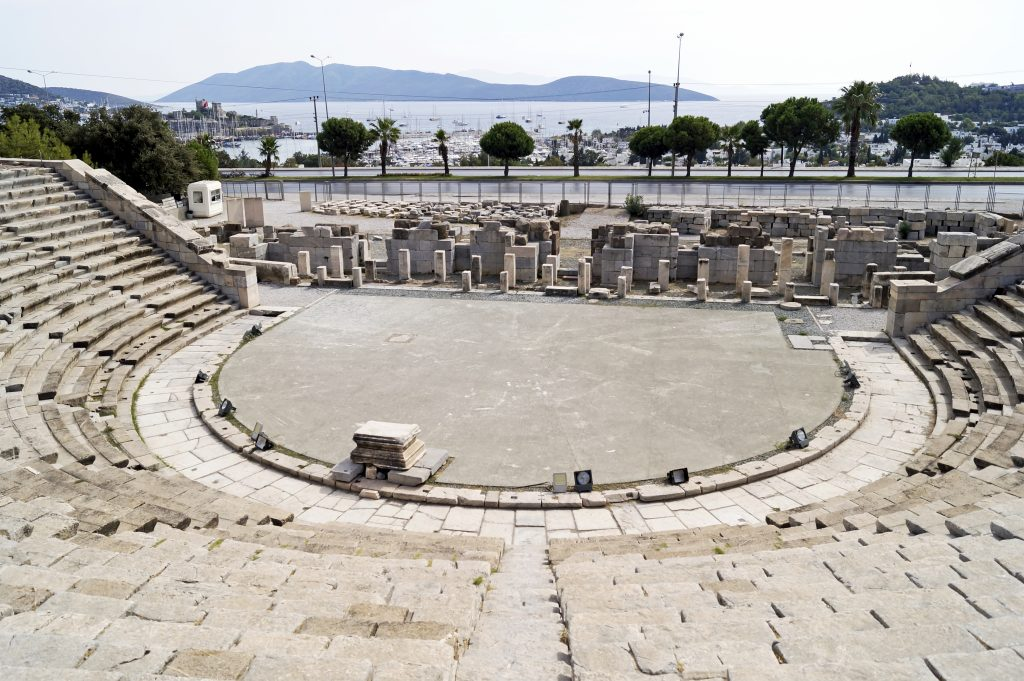 Amfitheater van Bodrum, Turkije