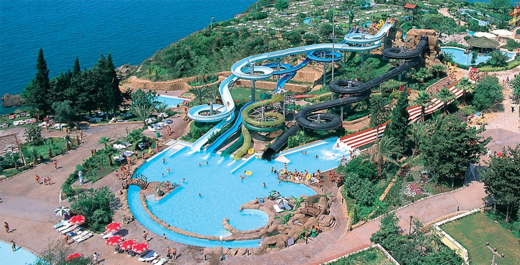 Dedeman Aquapark in Bodrum, Turkije