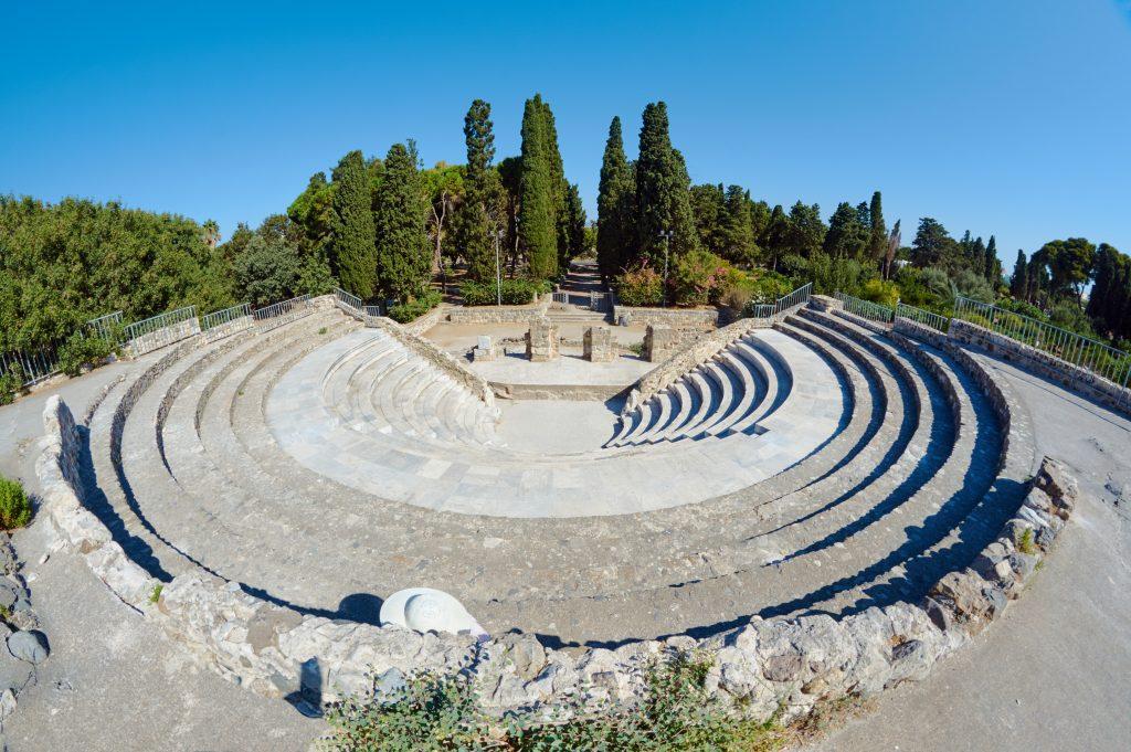 Romeins Odeon in Kos-Stad, Kos