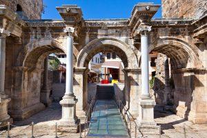 Hadrianuspoort in Antalya