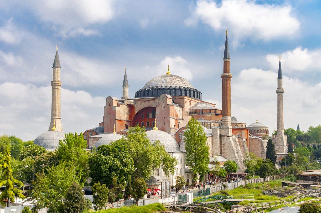 Aya Sophia in Istanbul, Turkije