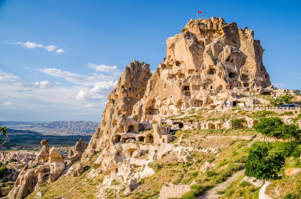 Grotwoningen in Cappadocië, Turkije
