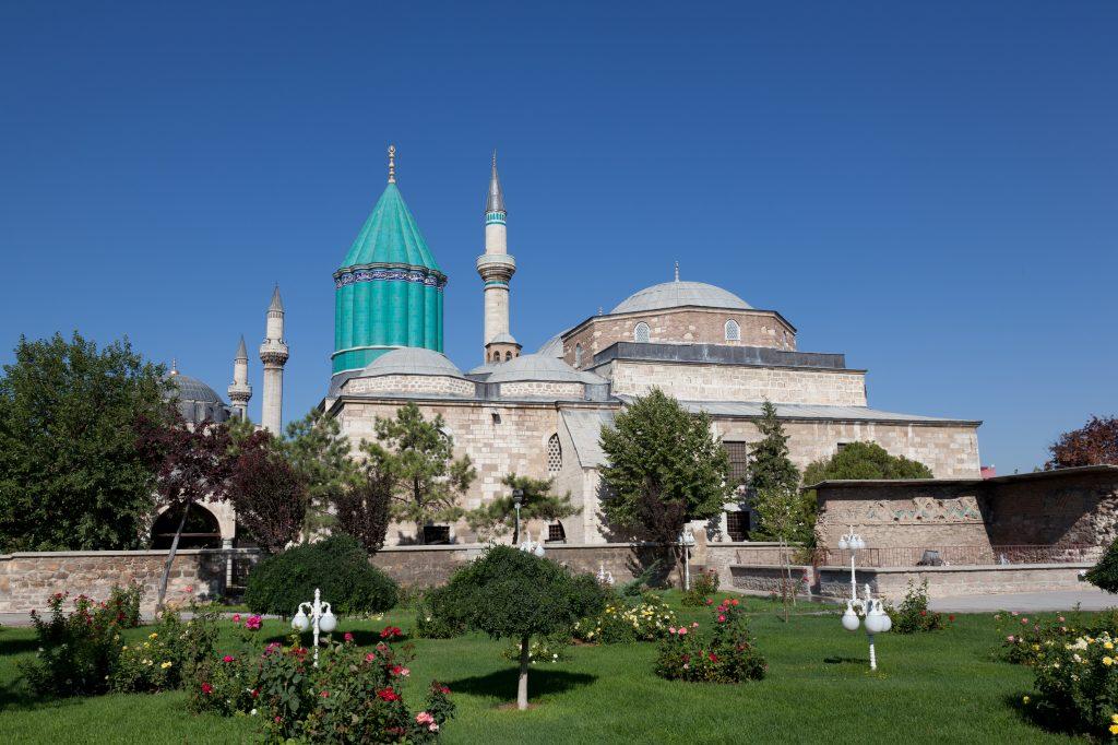 Mevlana Museum in Konya, Turkije