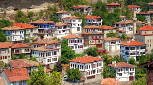 Ottomaanse woningen in Safranbolu, Turkije