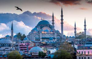 Sultan Ahmet moskee in Istanbul, Turkije