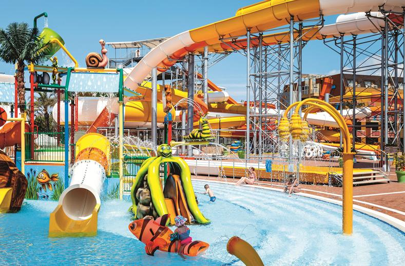 Hotel Splashworld Pegasos World in Side, Turkije
