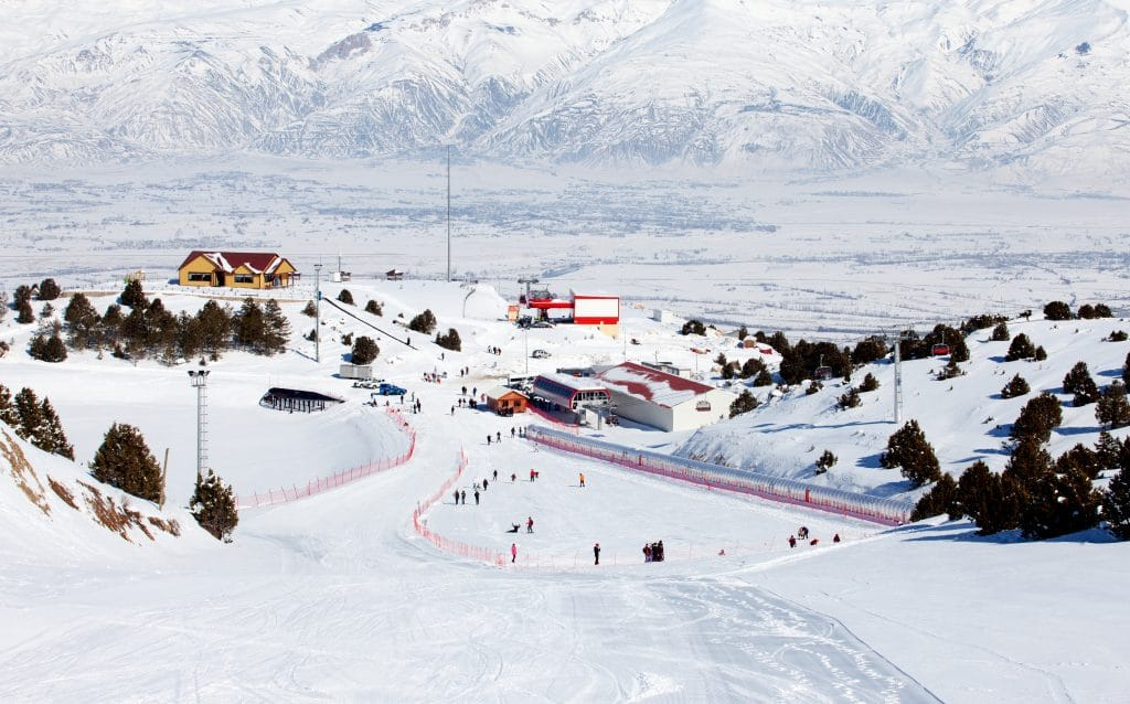 Ergan Ski Center in Turkije