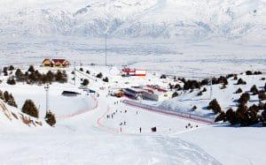 Ergan Ski Center in Turkije