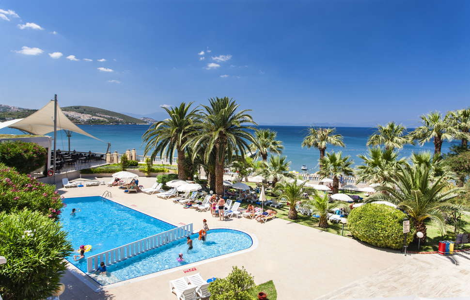 Hotel Tusan Beach Resort in Kusadasi, Turkije