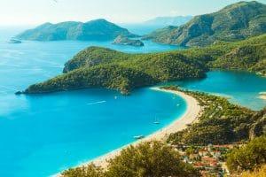 Oludeniz lagune in Turkije