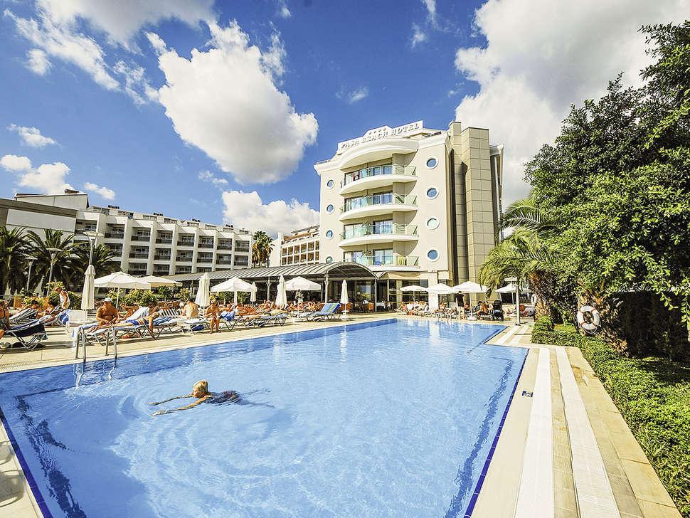 Pasa Beach Hotel in Marmaris, Turkije