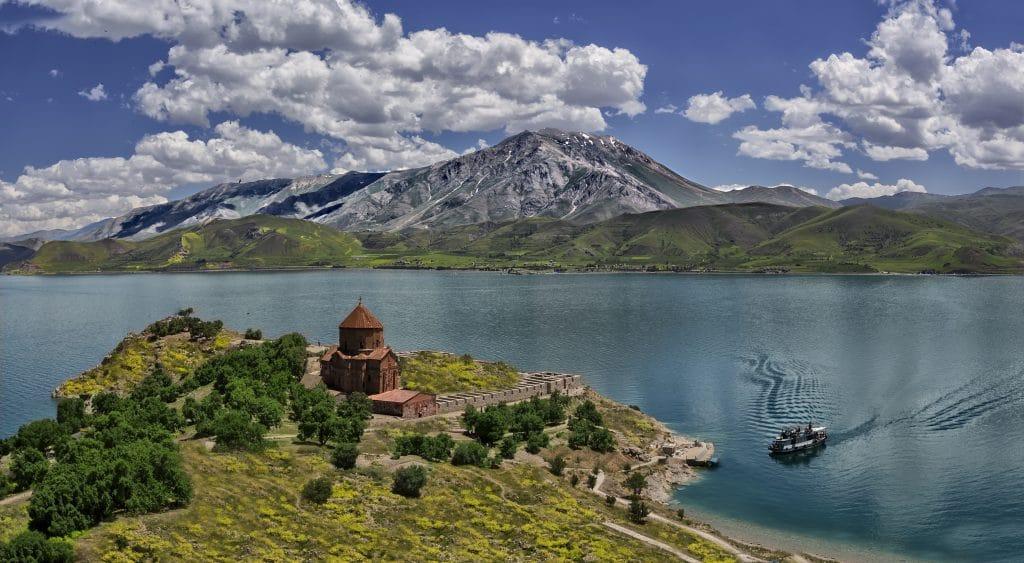 Van meer in Turkije