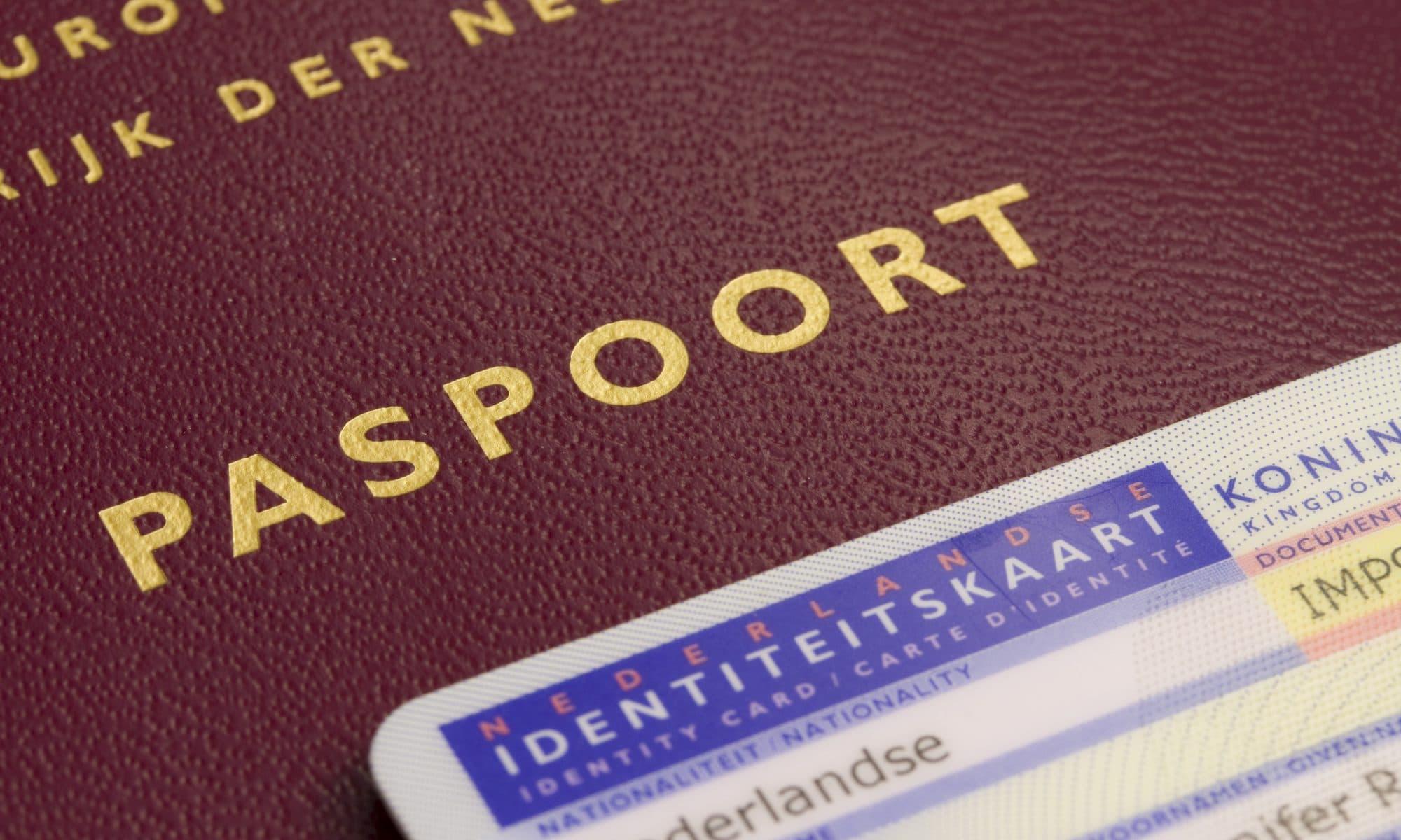 Nederlands paspoort en idkaart