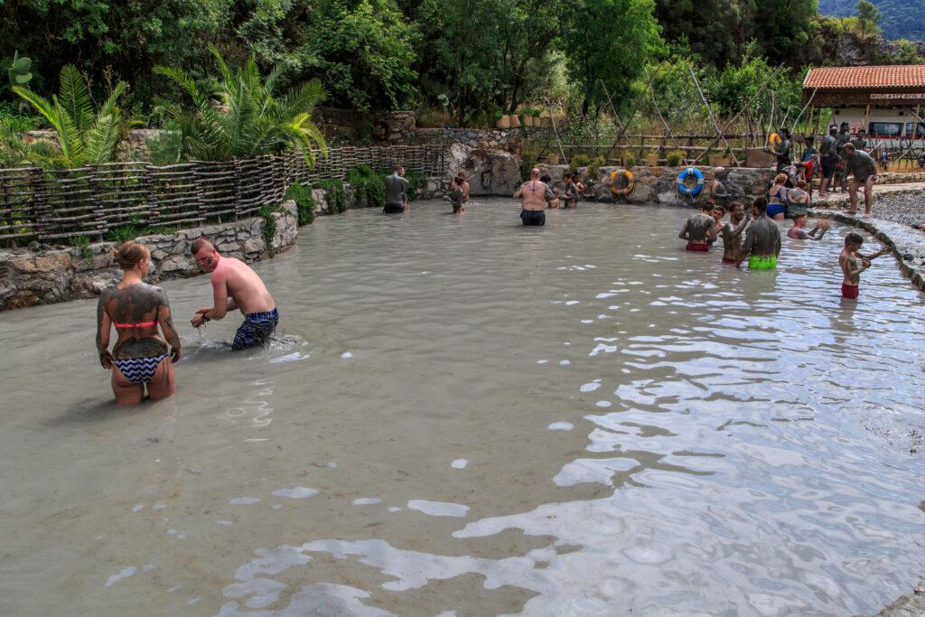 Modderbaden in Dalyan