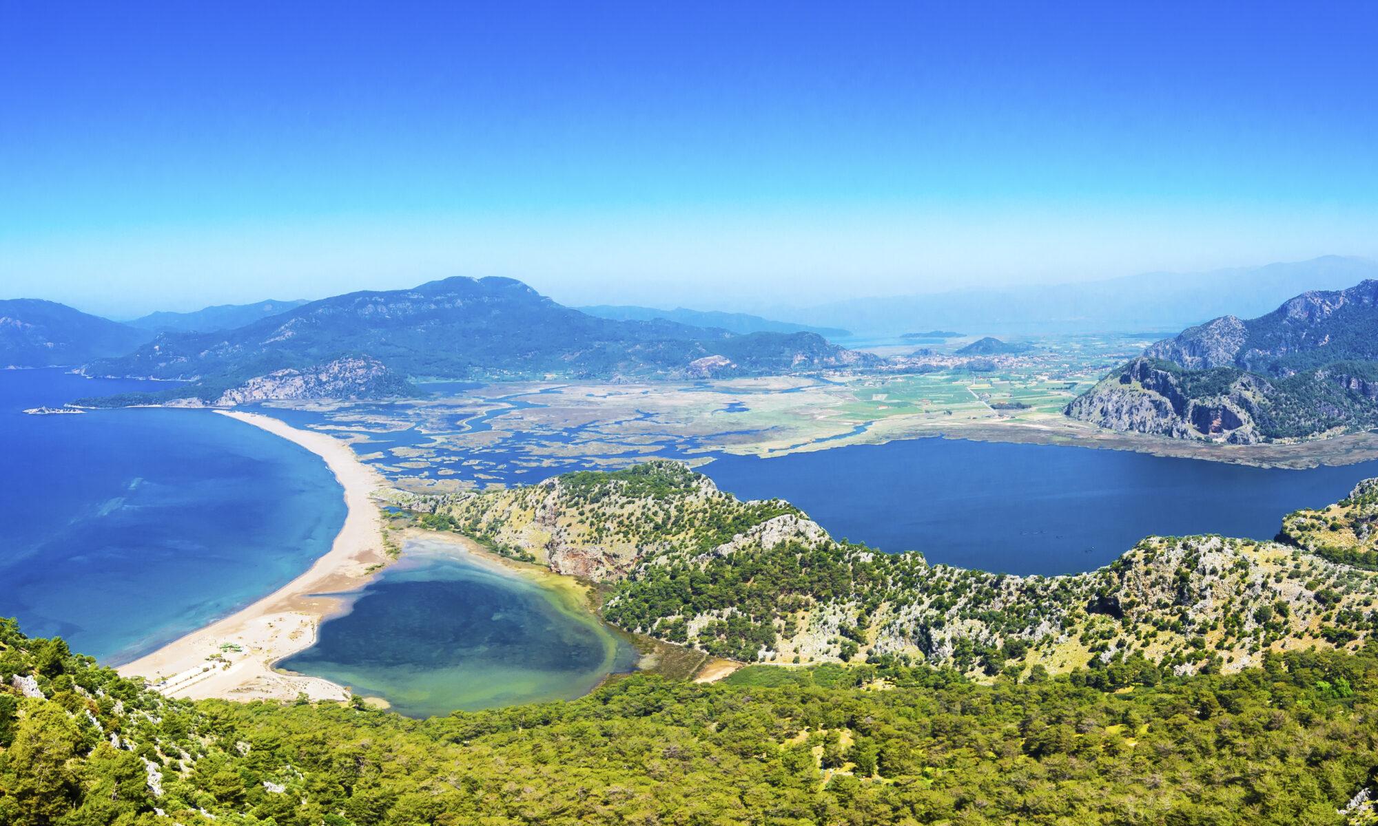 Iztuzu strand in Dalyan, Turkije