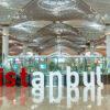 Logo van Istanbul op Istanbul Airport